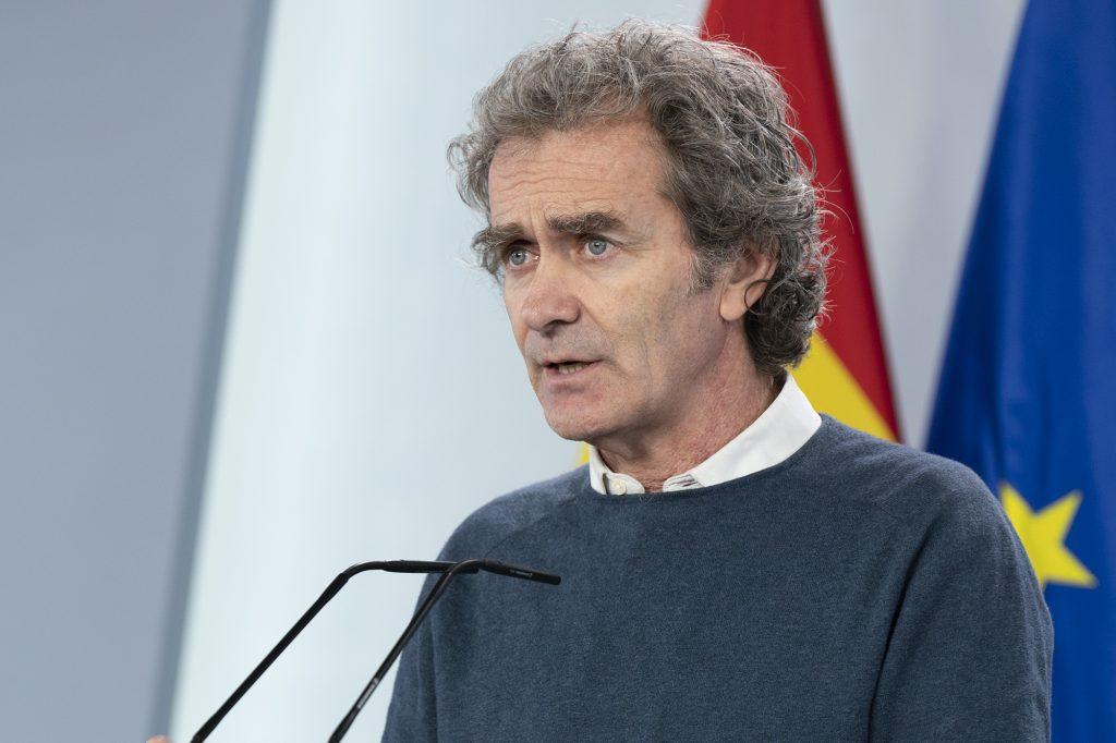 Fernando Simón pide extremar la prudencia ante la desescalada