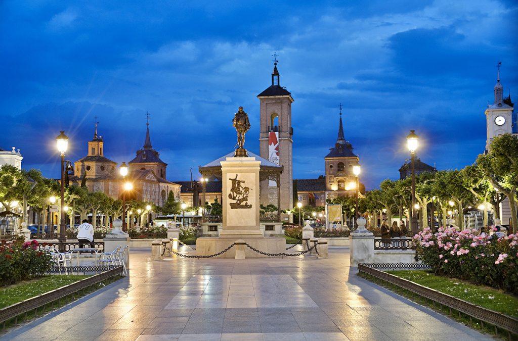 Zona peatonal en Alcalá de Henares