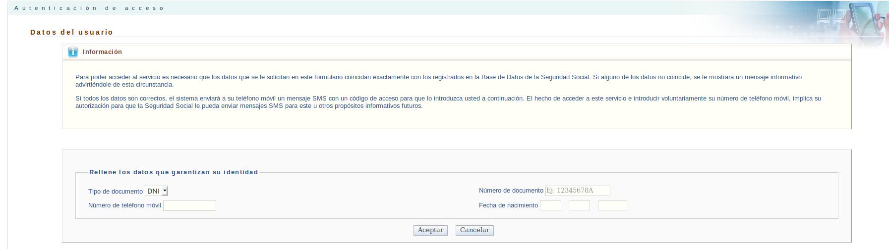 trámites seguridad social: descargar certificado irpf