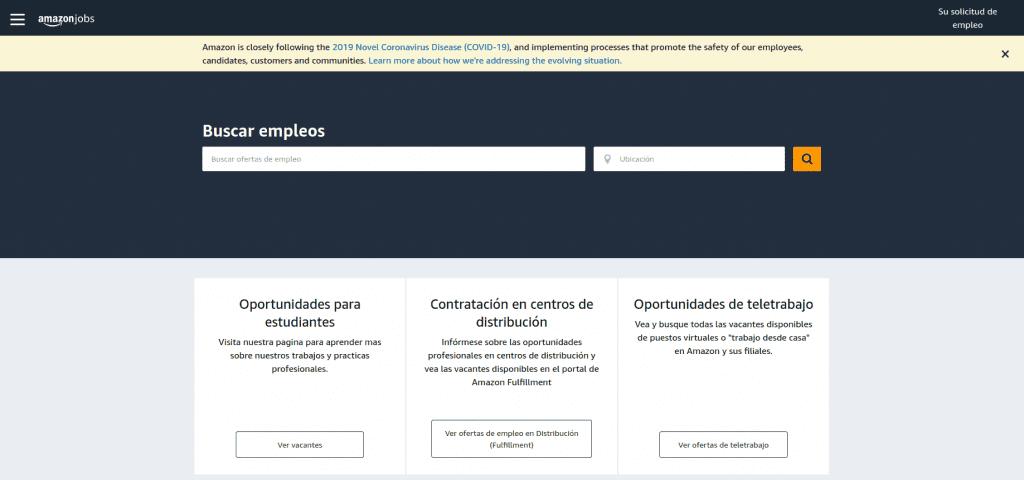 trabajo en Amazon. 440 ofertas de empleo amazon