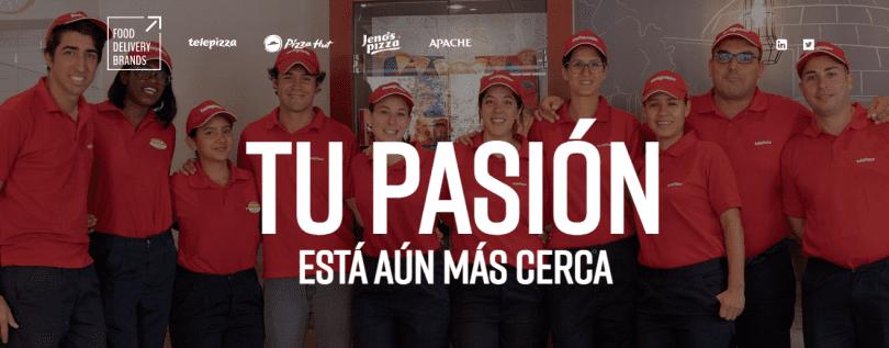 60 nuevas ofertas de empleo en Telepizza para marzo