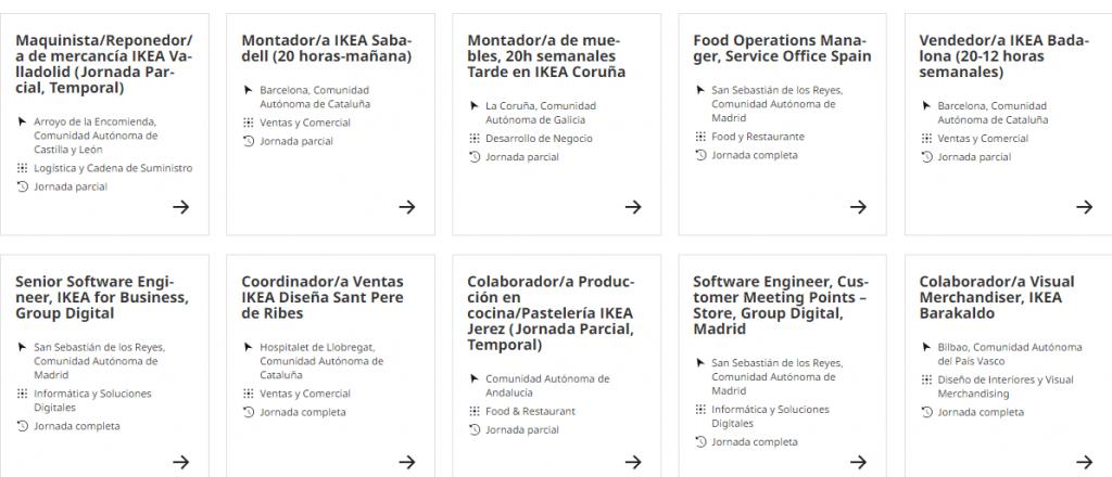 Nuevas ofertas de empleo en Ikea con sueldos de hasta 3.000 euros