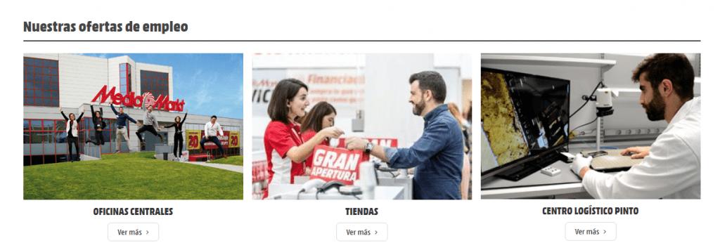 Más de 150 nuevas ofertas de trabajo en MediaMarkt