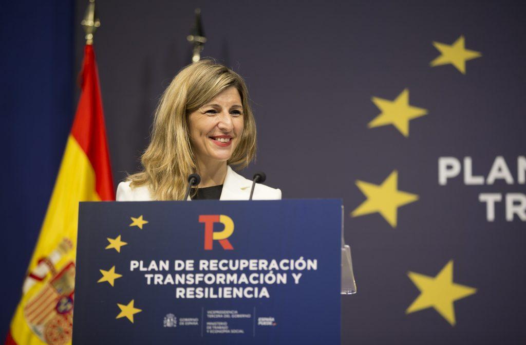 Yolanda Díaz sobre las reformas mercado laboral