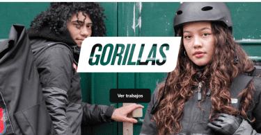 Gorillas llega a España y busca repartidores y personal para sus supermercados y oficinas