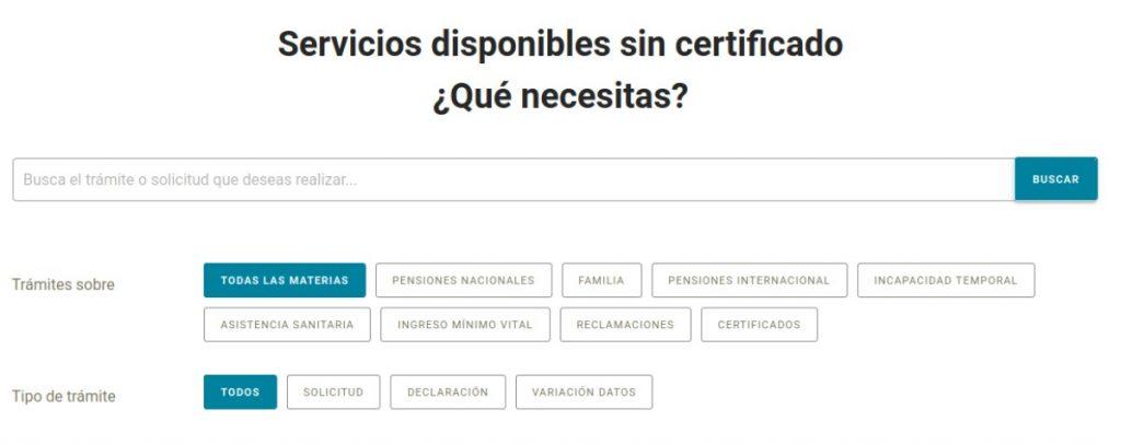 nueva plataforma seguridad social para solicitar y tramitar prestaciones