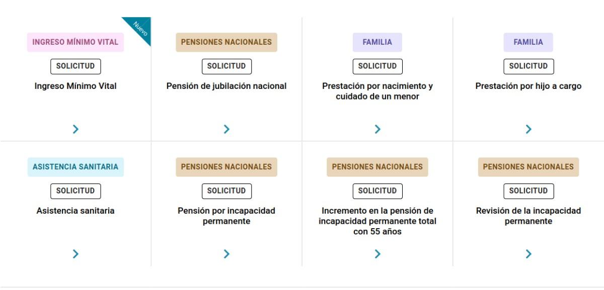 plataforma INSS: trámites sin certificado