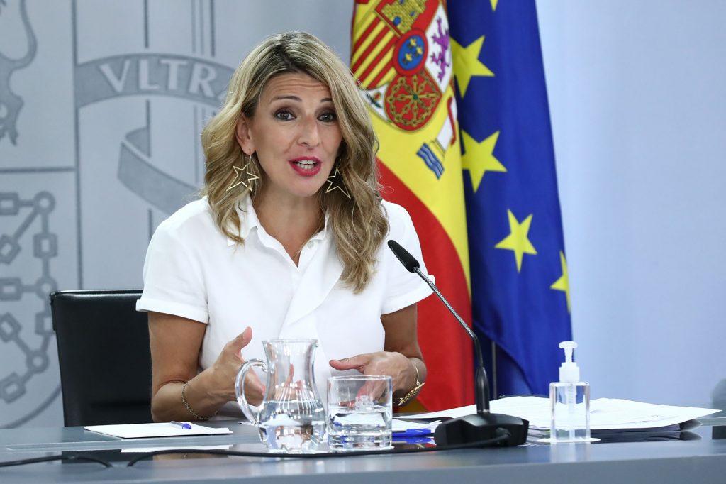Yolanda Díaz sobre el plan de empleo juvenil