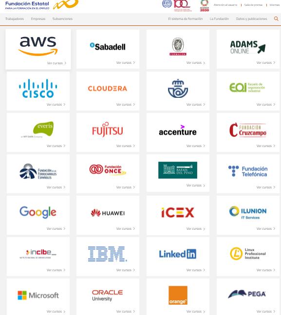 Digitalízate del SEPE: más de 700 cursos gratuitos para formarte con empresas como Google, Microsoft o Amazon