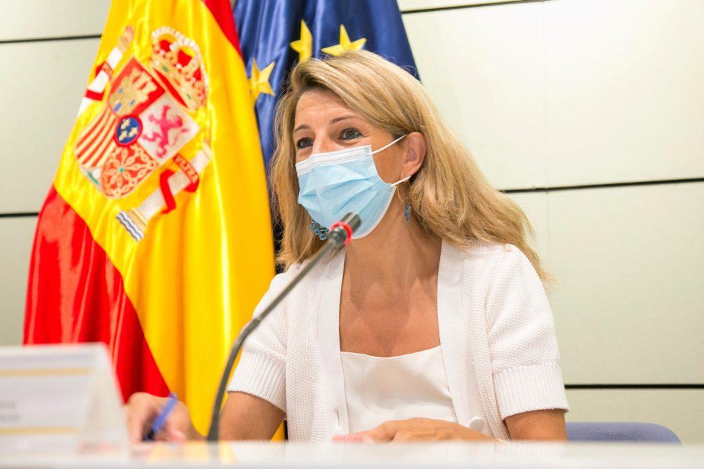 La vicepresidenta segunda del Gobierno y ministra de Trabajo y Economía Social, Yolanda Díaz, ha presidido la LXXX Conferencia Sectorial de Empleo y Asuntos Laborales.