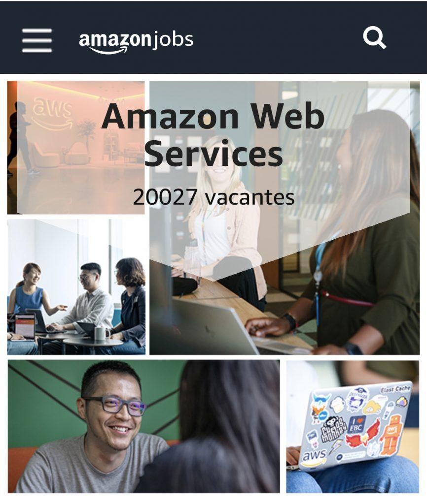 Amazon AWS lanza su mayor oferta de empleo con más de 20.000 vacantes