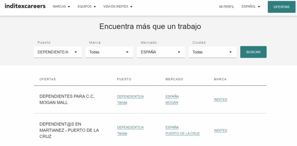 Zara busca dependientes y ofrece sueldos que parten de los 1.000 euros