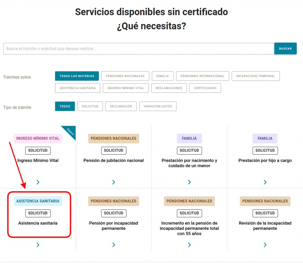 seguridad social: nueva plataforma solicitud y tramites (altas, bajas, prestaciones, ingreso mínimo vital...)
