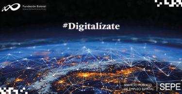 Digitalízate Plus: nueva plataforma del SEPE con más de 800 cursos gratuitos